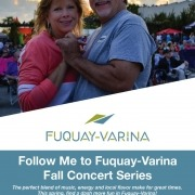 Follow Me to Fuquay Varina Fall Concert Series