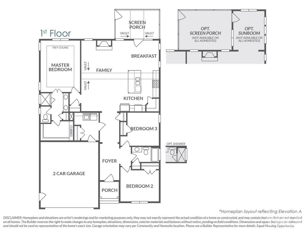 Fuquay-Varina-First-Floor-Master-New-Homes-South Lakes Living